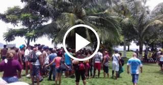 La tabla de salvación de los migrantes cubanos de Ciudad de Panamá