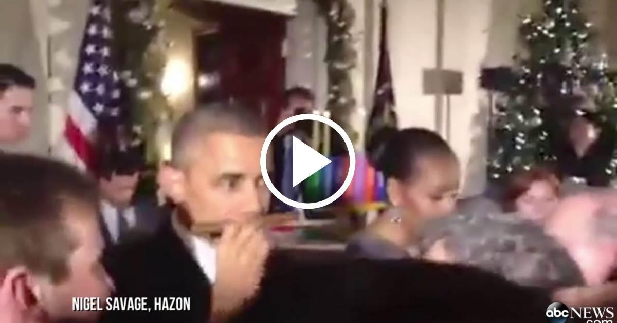 Regalan a Obama un Tabaco Cubano - Vídeo en CiberCuba