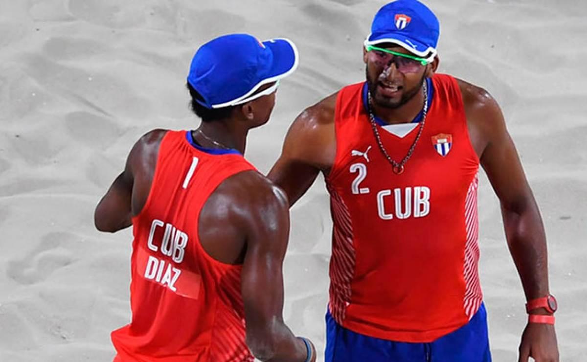 Voleibol de playa de Cuba avanza a cuartos de final en Río 2016