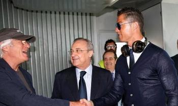 Richard Gere y Cristiano Ronaldo