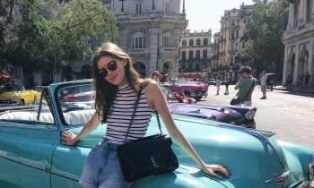 Modelos de Chanel en la Habana